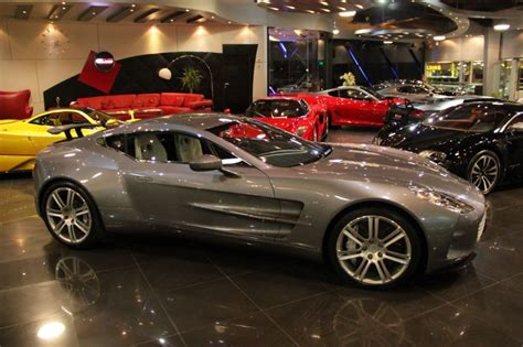 Best Car Insurance Companies In Dubai by Aston Martin One 77 S Sitting In A Dubai Showroom