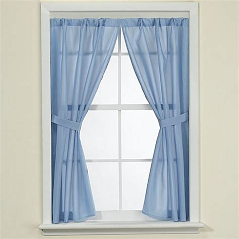curtains for bathroom window fabric bath window curtain bed bath beyond