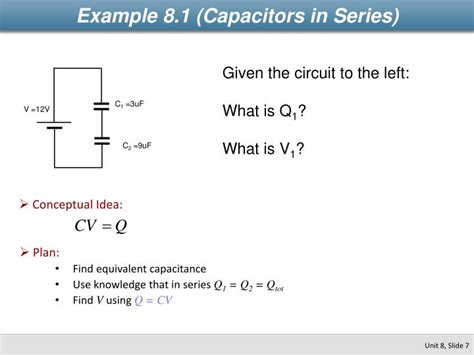 capacitors in series mastering physics what are the charges on plates 3 and 6 ppt physics 2112 unit 8 capacitors powerpoint presentation id 2265746