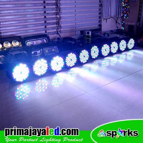 Paket Lu 2 Par 54 Led Rgbw Mixer Dmx 512 1 paket medium stage panggung par led prima jaya led