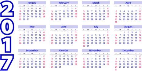 Calendario 2017 Ingles Calendarios 2017 2018 Para Descargar Y Compartir En El