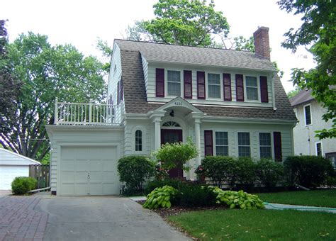 dutch gambrel dutch colonial remodel traditional exterior