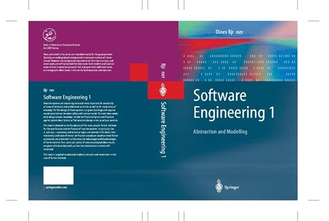 software engineering a series of text handbooks