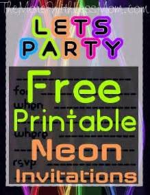 neon invitations templates 17 best ideas about neon invitations on