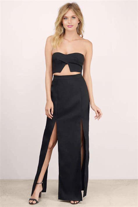Dress Maxi Set black maxi dress black dress two dress black