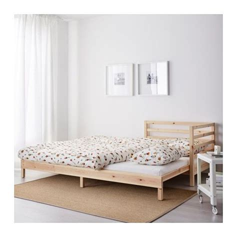 ikea tarva bed frame painted nazarm com tarva day bed with 2 mattresses pine moshult firm 80x200