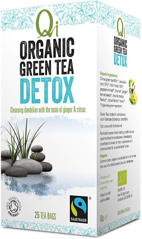 Qi Organic Green Tea Detox by Detox Qi Tea