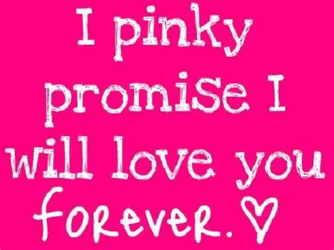 images of love promises pinky promise love quote picture