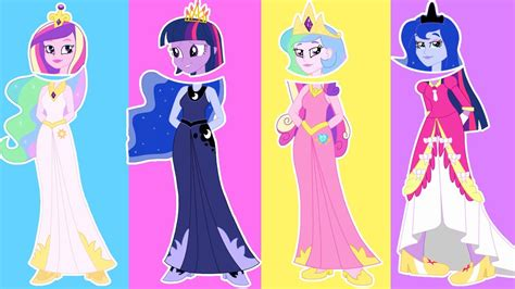 my little pony princess cadence equestria girls my little pony equestria girls princess celestia cadence