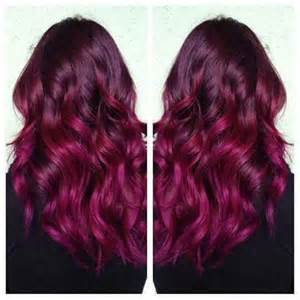 black hair to raspberry hair cheveux framboise framboises and couleur rose pour les