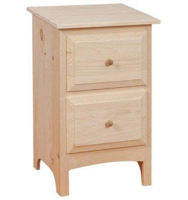 18 Inch Nightstand 18 Inch 2 Drawer Nightstand Simply Woods Furniture Opelika Al
