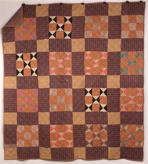 Patchwork Quilts Lots Of Them - lot 573 lot of 2 quilts with patchwork designs
