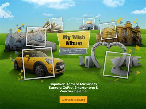 Gopro Ratusan kuis my wish album berhadiah canon eos m10 kit gopro 5