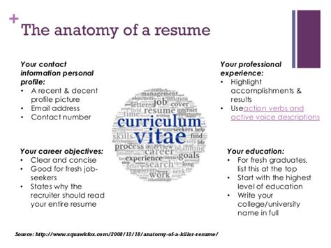 resume writing for fresh graduates