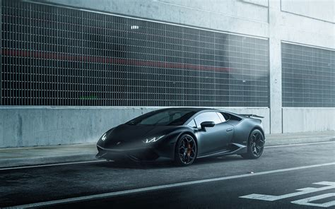lamborghini car black aq49 lamborghini huracan vellano matte black car wallpaper