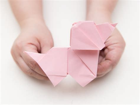 How To Make An Origami Puppy - how to make an origami with pictures wikihow