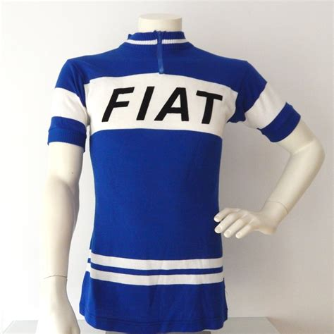 vintage 1970 s fiat cycling jersey eddy merckx 37 quot sold