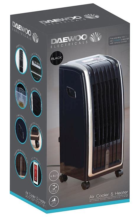 air purifier and fan daewoo 4 in 1 air cooler fan heater air purifier and