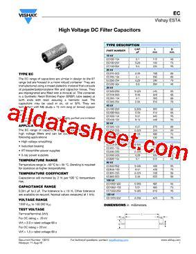 capacitor ceramico 104 datasheet ec100 104 datasheet pdf vishay siliconix