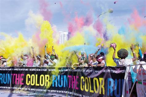 las vegas color run the color run rainbow washes downtown las vegas weekly