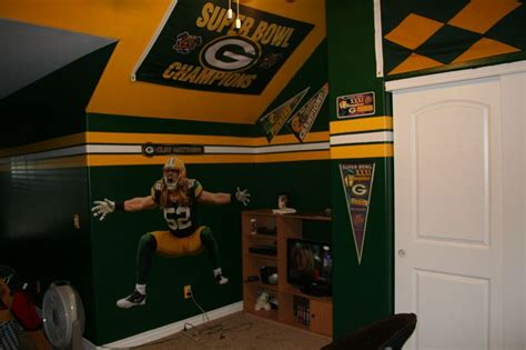 green bay packers bedroom my son s green bay packer bedroom kids room decor ideas