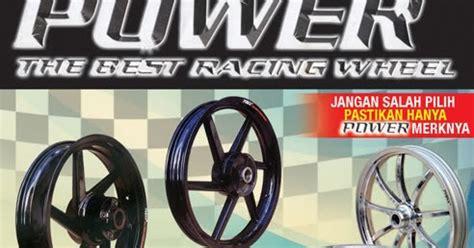 Velg Racing Lebar Mio Soul Palang 5 Power Chrome il motor lubeg padang velg bintang tapak lebar