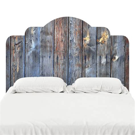 headboard sticker petrified wood headboard decal headboard decal wood