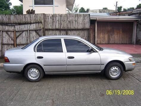 Toyota Corolla 93 Toyota Corolla 93 Stereo With Pictures Mitula Cars