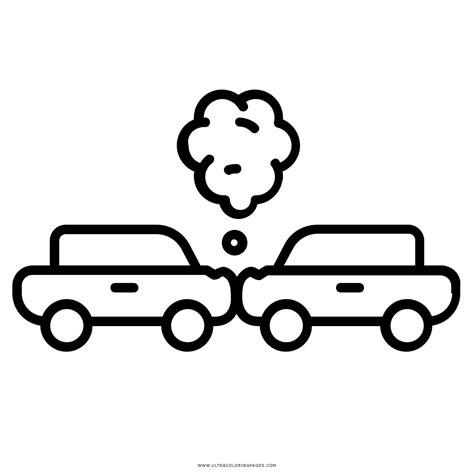 imagenes para colorear prevencion de accidentes dibujo de accidente automovilistico para colorear ultra
