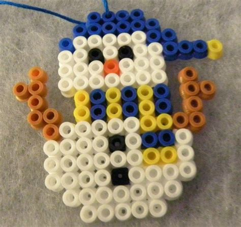 pony bead snowman 557 best images about perler hama pony bead on