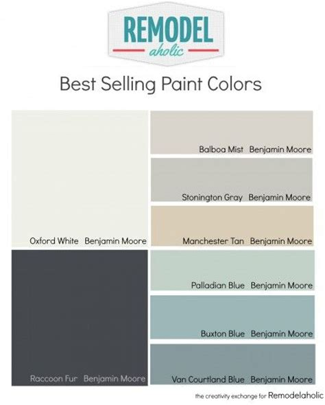 best selling benjamin paint colors all about color