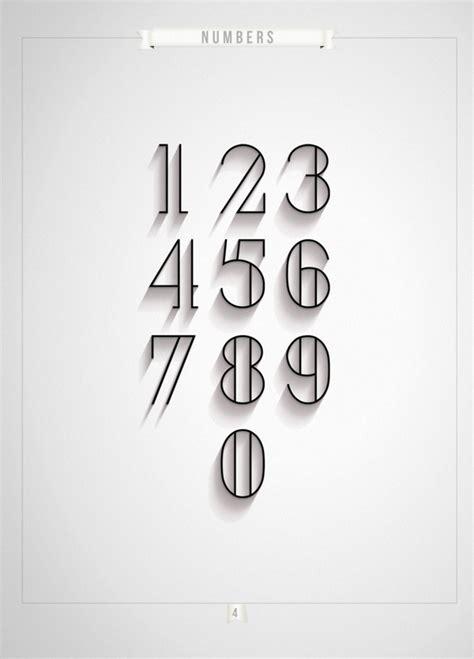 Font Design London | london numerals typeface antonio rodriquez jr