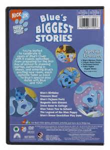 Blue S Clues Biggest Stories Dvd Free Shipping