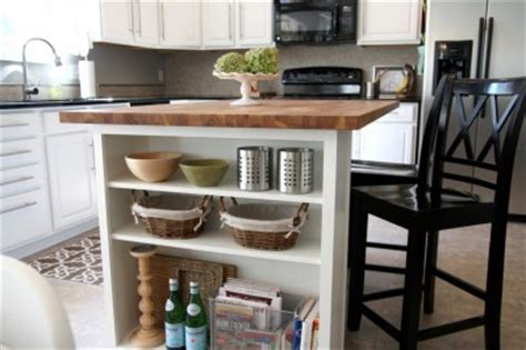 diy kitchen island upgrade home construction improvement