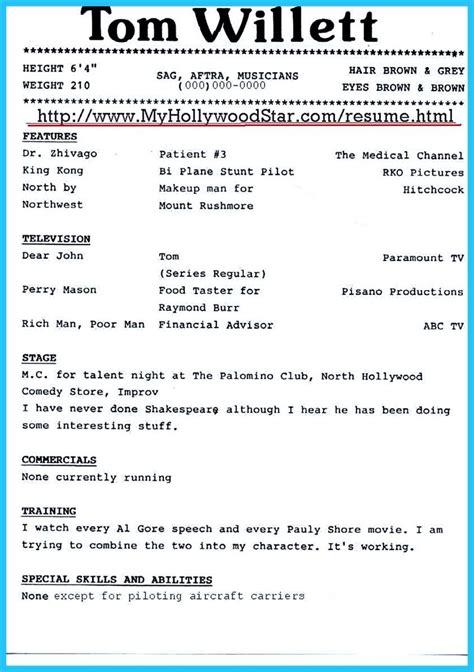 pin on resume template resume sle resume resume