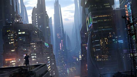 cyberpunk city concept environment sci fi concept art cyberpunk assassin s creed assassinscreed