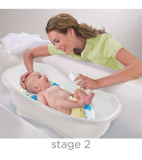 summer infant newborn to toddler bath center shower neutral