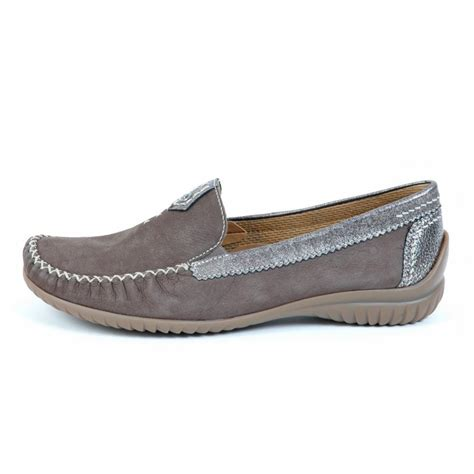 womens loafers gabor shoes california womens wide fitting loafer in