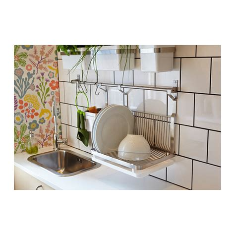 Wall Dish Drying Rack by Wall Mounted Drying Rack For The Dishes Homesfeed