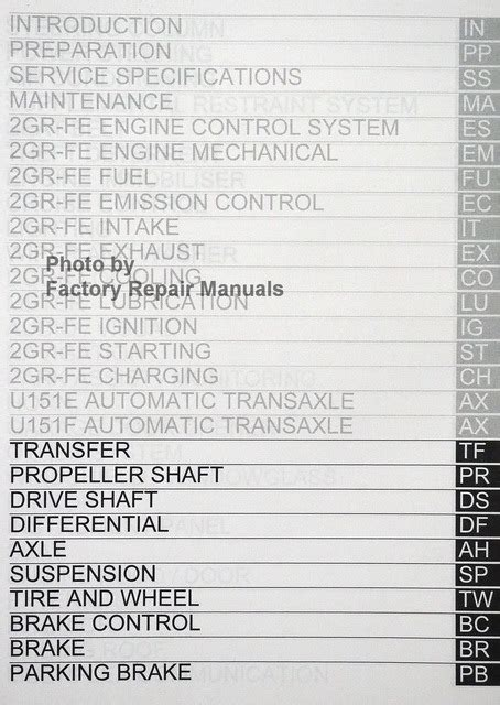 service and repair manuals 2007 toyota sienna security system 2007 toyota sienna factory service manual set original shop repair factory repair manuals