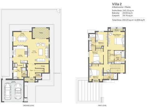 2 floor villa plan design la qunita floor plans villa nova dubailand