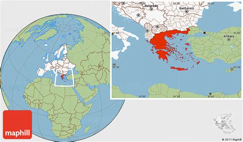 map world greece greece map of world