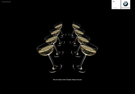 new year advertisement bmw quot happy new year quot print ad by dlv bbdo milan