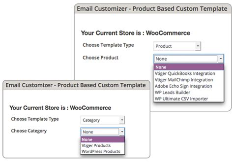 woocommerce custom product template email customizer for woocommerce smackcoders