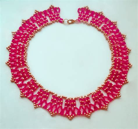 seed bead choker patterns 1000 images about colares on beaded necklace