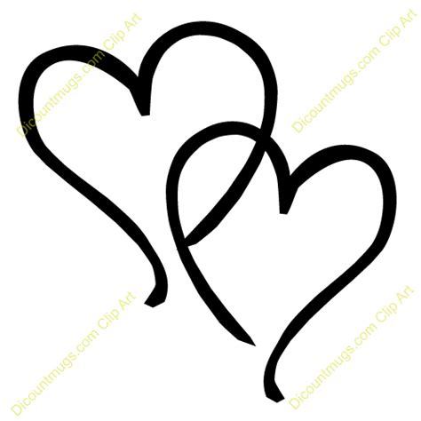 heart scroll clipart 1938747
