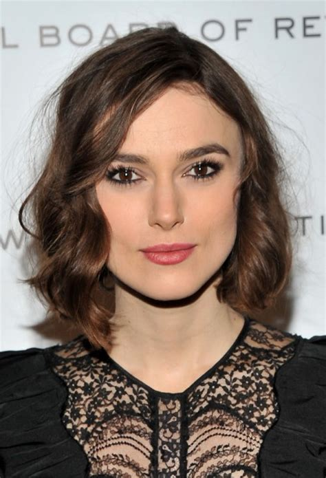 bob hairstyles keira knightley keira knightley hairstyles adorable bob with mussed