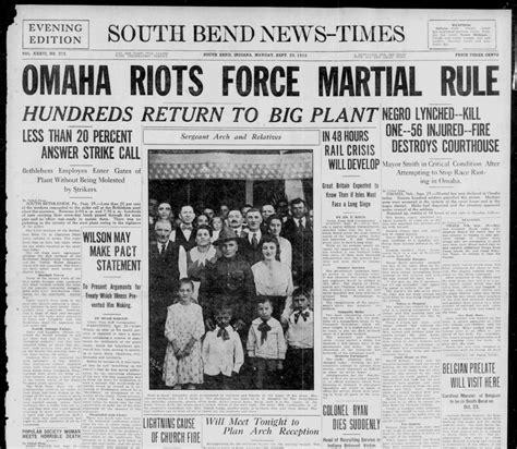 nebraska newspaper america s wwi hoosier state chronicles
