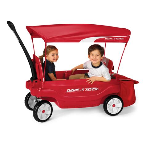 Radio Flyer The Ultimate Comfort Wagon Red Radio Flyer Ultimate Comfort Kids Wagon Kids Wagons At