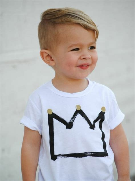 stylish toddler boy haircuts 39 cool haircuts for kids page 13